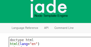 jade lang layout what you in need all about jade template engine for node