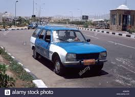 peugeot 504 wagon peugeot 504 taxi cab on the peace road in sharm el sheik resort