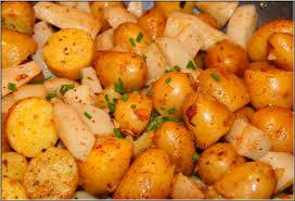 comment cuisiner les pommes de terre grenaille poêlée de pommes de terre grenaille et de topinambours mémoires de