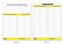 silent auction sheet silent auction pinterest silent auction
