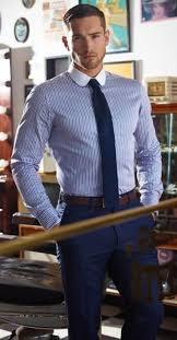 Men S Office Colors 9 Best Menswear Images On Pinterest Blue Shirt Grey Pants