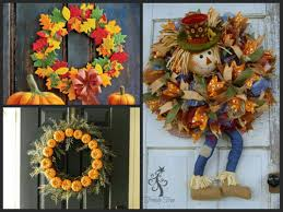 beautiful thanksgiving wreaths for your front door