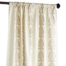 fashionable inspiration ivory and gold curtains charming