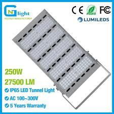 Outdoor Sports Lighting Fixtures High Quality 250w Led Tunnel Light Replace 1000w 1200w Hps Mh