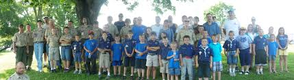Flag Placement Mosheim Scouts Home