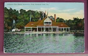 iroquois boating club house east side conneaut lake pa 1912