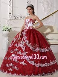 maroon quinceanera dresses wine and white strapless quinceanera dress with appliques and