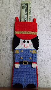toy soldier christmas stocking crochet holidays christmas