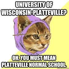 Wisconsin Meme - university of wisconsin platteville cat meme cat planet cat planet
