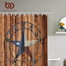 Texas Star Bathroom Accessories by Online Get Cheap Designer Fabric Shower Curtain Aliexpress Com