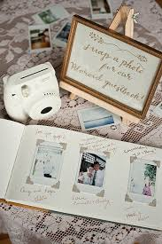 guestbook wedding s perspective four wedding guestbook ideas polaroid