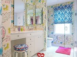 beauteous interior design of cute girls bathroom ideas with