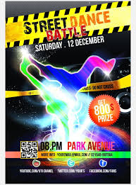competition flyer template dance poster template 33 free psd