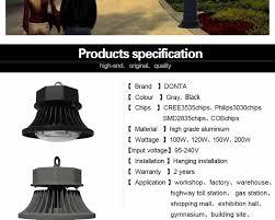 ufo led high bay lights lamp 100w 120w 150w 200w highbay ip65
