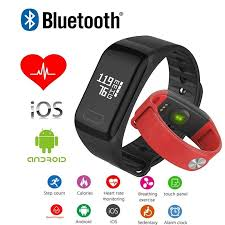 bracelet heart monitor images Blood pressure smart bracelet heart rate sleep monitor fitness jpg