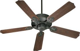 Outdoor Ceiling Fans by Quorum 137525 9 Hudson Patio Galvanized 52