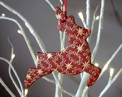 reindeer decoration etsy
