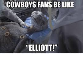 Dallas Cowboys Fans Memes - cowboys fans be like elliott be like meme on esmemes com