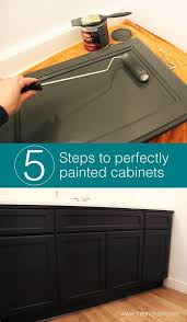 steps to painting cabinets painting wood cabinets one room challenge week 3 smooth