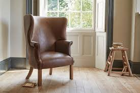 Vintage Brown Leather Armchair Vintage Brown Leather Armchairs Indigo Furniture