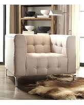 Linen Club Chair Deals On Iconic Home Capone Modern Biscuit Tufted Smoke Linen Club