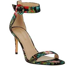 marc fisher sandals w ankle strap bettye page 1 u2014 qvc com