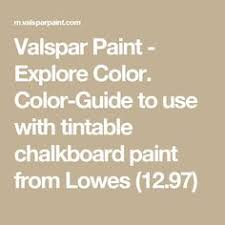 color chart for the new krylon chalk finish paint in a spray paint
