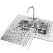franke studio designer pack stx 621 e stainless steel sink and tap