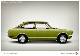 toyota corolla second 1974 toyota corolla affectionally known as the peanut this is