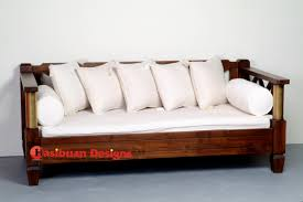 Wood Daybed Frame Furniture Excellent Daybed Couch For Comfortable Large Sofas