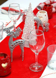 Red And Silver Wedding 33 Red And Silver Table Setting Ideas For Christmas