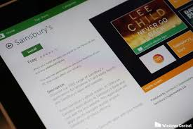 sainsbury u0027s releases three new official apps for windows windows