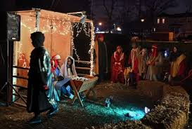nativity pictures a tiny church a cold and the true meaning of christmas at