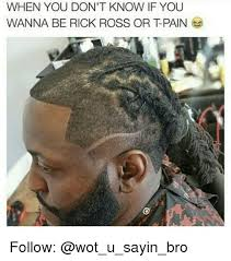 Rick Ross Meme - when you don t know if you wanna be rick ross or tpain follow rick
