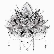 Simple Lotus Flower Drawing - simple lotus flower tattoo 10 best tattoos ever