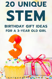 20 stem birthday gift ideas for a 3 year unique gifter