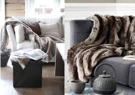 plaids fausse fourrure pour canapé ou trouver des coussins pour canape maison design bahbe com