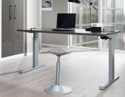 Schreibtisch Grau G Stig Wellemöbel Up U0026down Stehschreibtisch Verstellbar Günstig