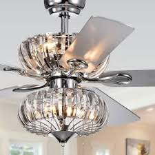 Chandelier Ceiling Fans With Lights Lighting For Less Overstock