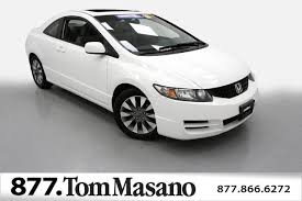 2009 honda civic wheels 2009 used honda civic coupe 2dr automatic ex at masano auto