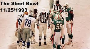 the sleet bowl november 25 1993