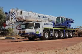 australia u0027s first 130t all terrain tadano crane lands at goodline