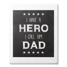 gift for dad canvas gift for dad fathers day 2017 i love you daddy pinterest