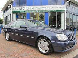 mercedes s500 amg for sale used mercedes 2004 petrol class s500 amg coupe blue automatic