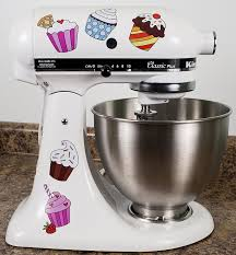 designer kitchen aid mixers amazon com colorful cupcakes kitchenaid mixer mixing machine