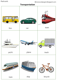 esl pages transportation