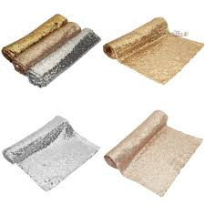 wedding reception table runners sequin wedding table runners wedding decorations