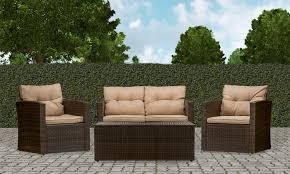 Eddie Bauer Patio Furniture Imperia Outdoor Patio Furniture Set 4 Piece Groupon