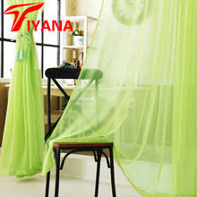 Yellow Curtains For Bedroom Buy Green Yellow Curtains And Get Free Shipping On Aliexpress Com