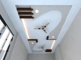 false ceiling designs for living room with 2 fans lader blog